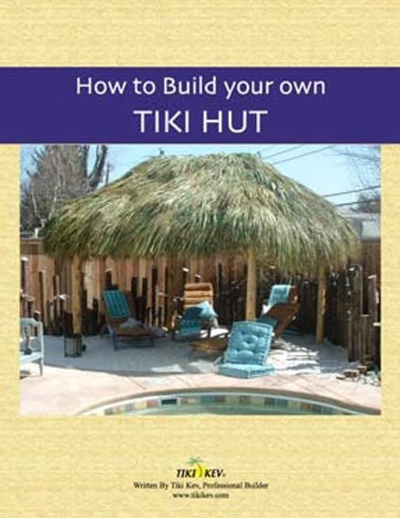 tabletop tiki hut instructions