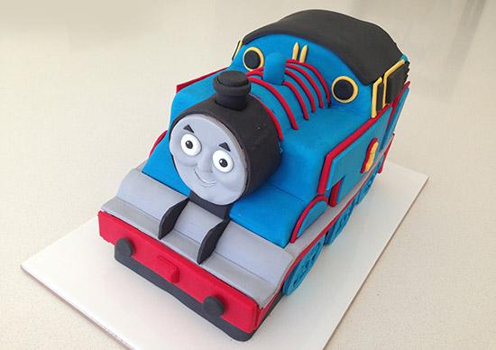 thomas tank engine cake instructions