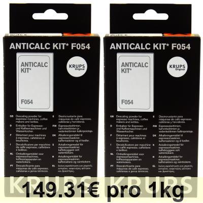 krups anticalc kit f054 instructions