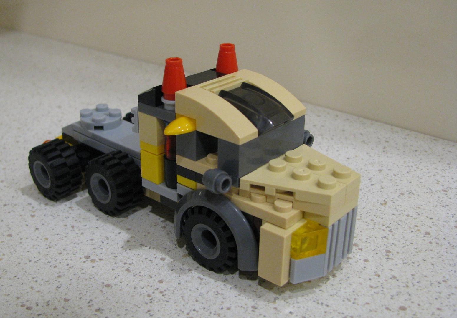 lego big rig instructions