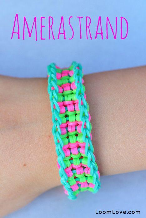 rubber band bracelet instructions