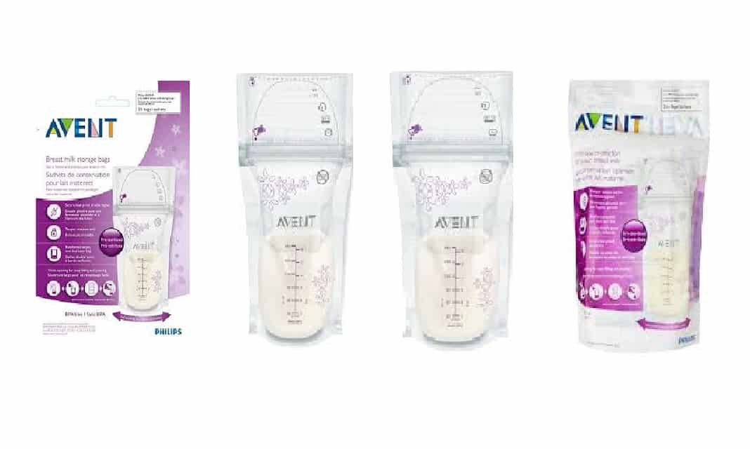 avent breastmilk storage bags instructions