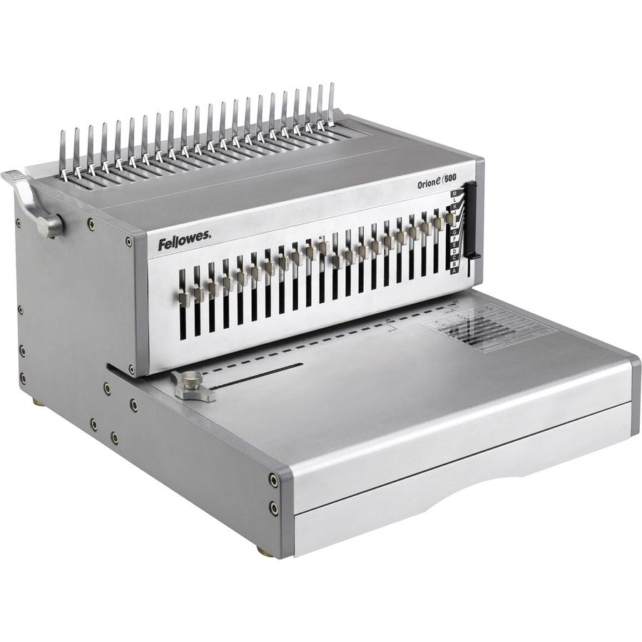 fellowes comb binding machine instructions