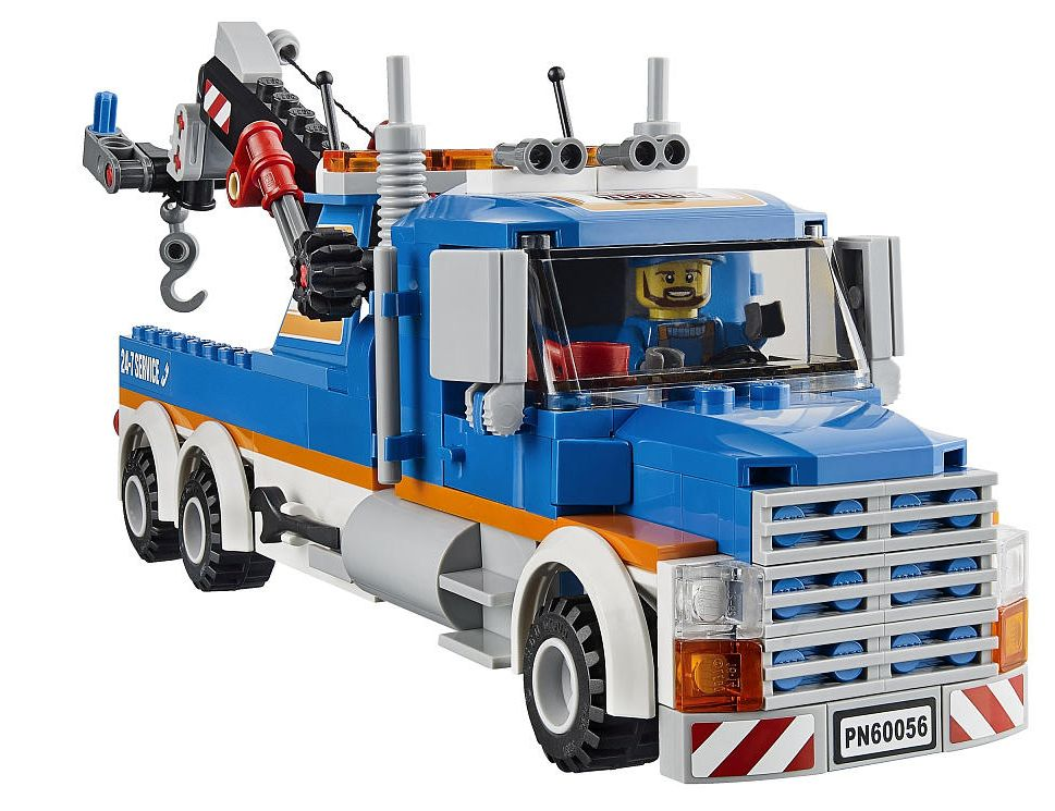 lego tow truck 60056 instructions