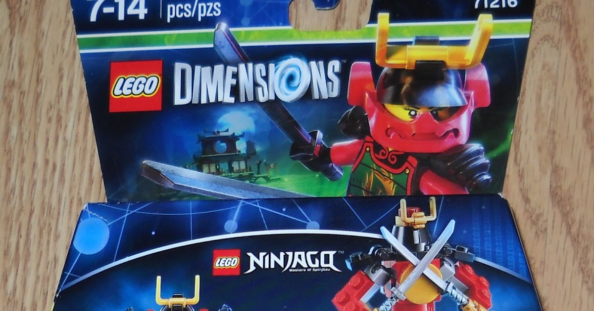 lego dimensions nya instructions