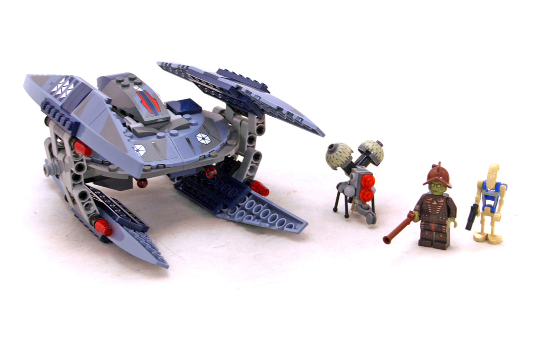lego vulture droid instructions