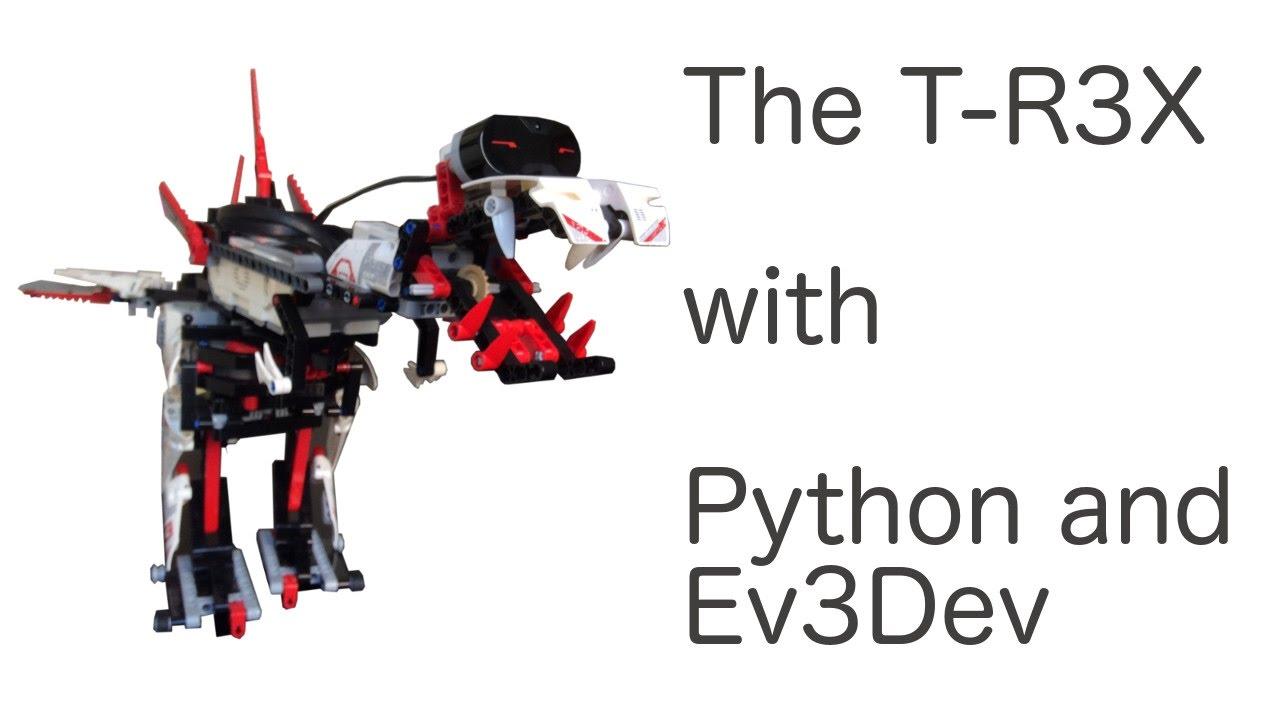 lego mindstorms ev3 t rex instructions
