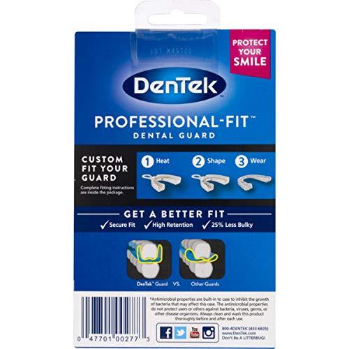 dentek disposable dental guard instructions