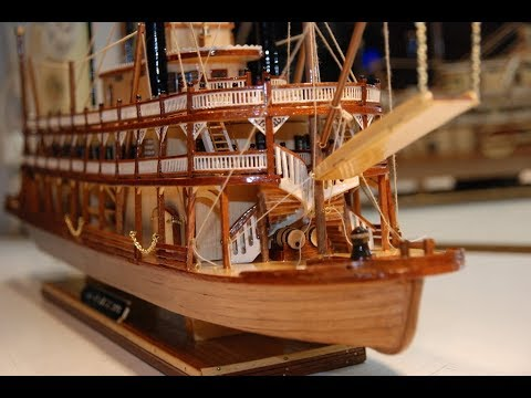 king of the mississippi riverboat model instructions