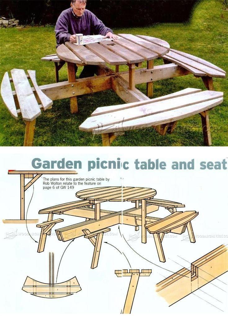2x4 basics picnic table instructions
