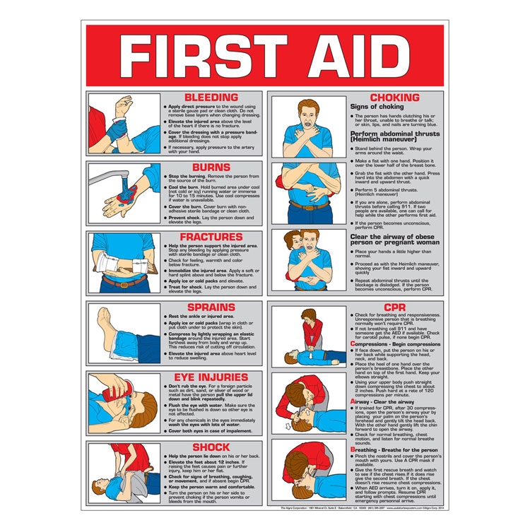 safety procedures and instructions