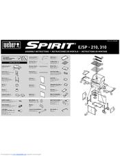weber spirit e 210 assembly instructions