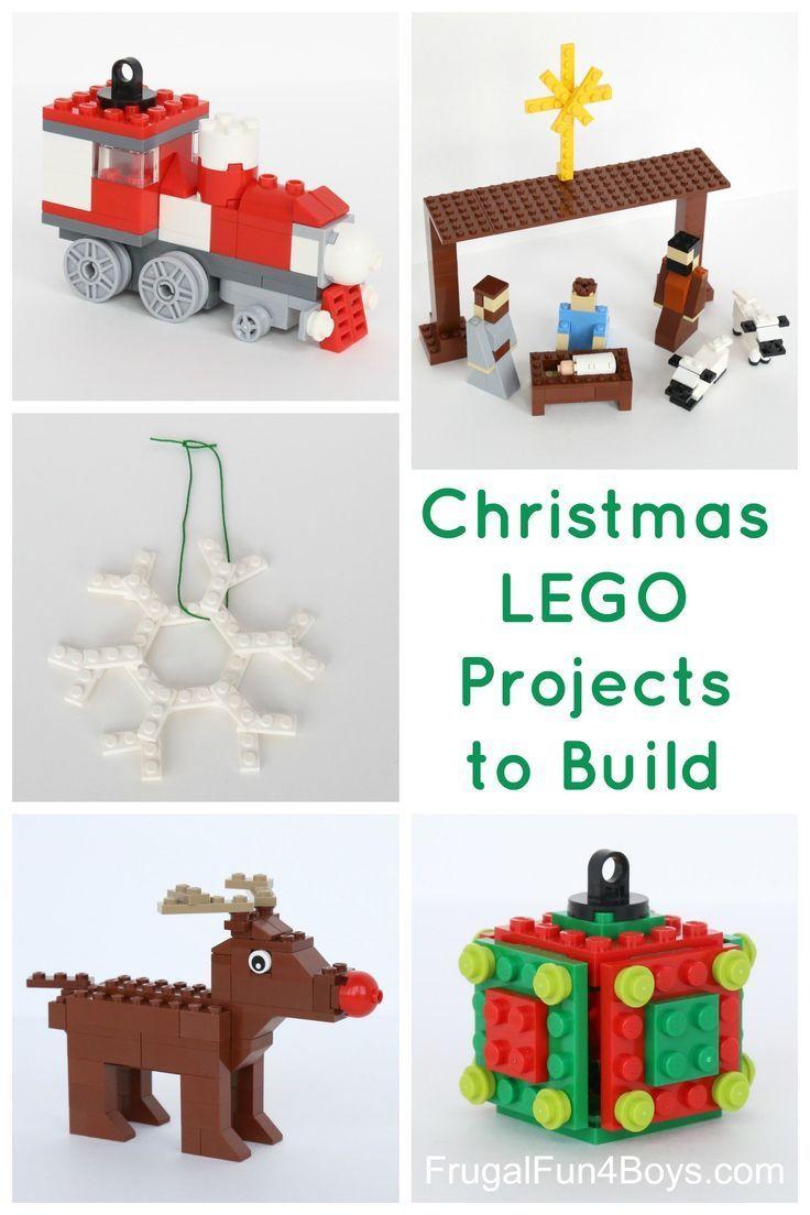 lego christmas train instructions