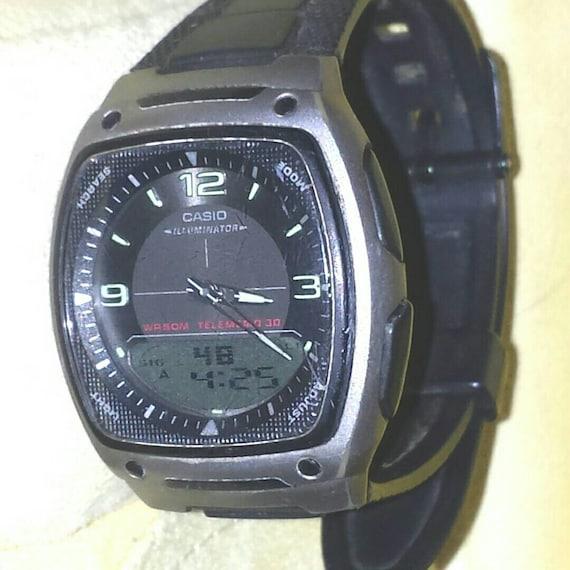 casio illuminator watch instructions