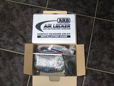 arb air locker installation instructions