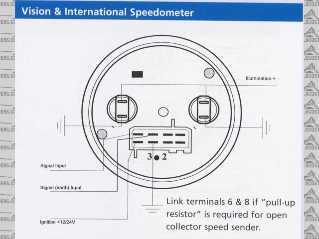 tach hour meter instructions