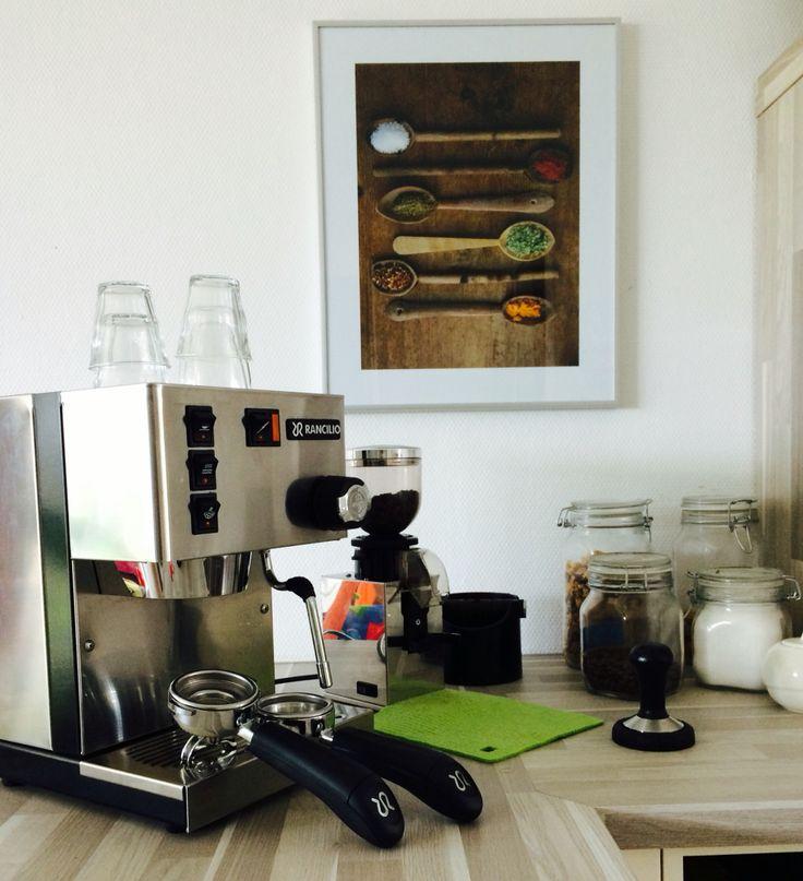 rancilio espresso machine instructions