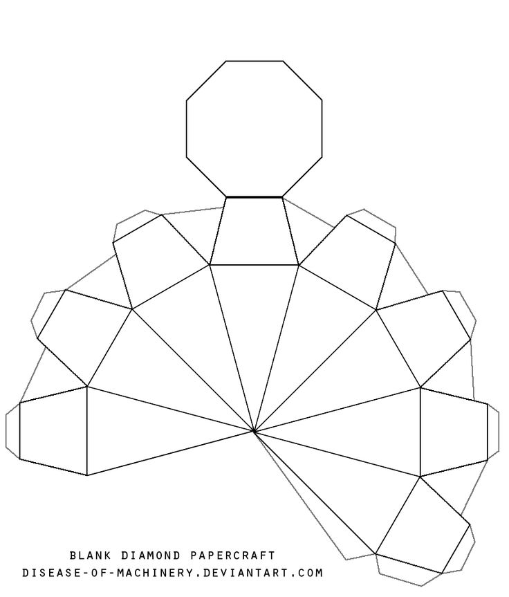 3d crystal puzzle diamond instructions