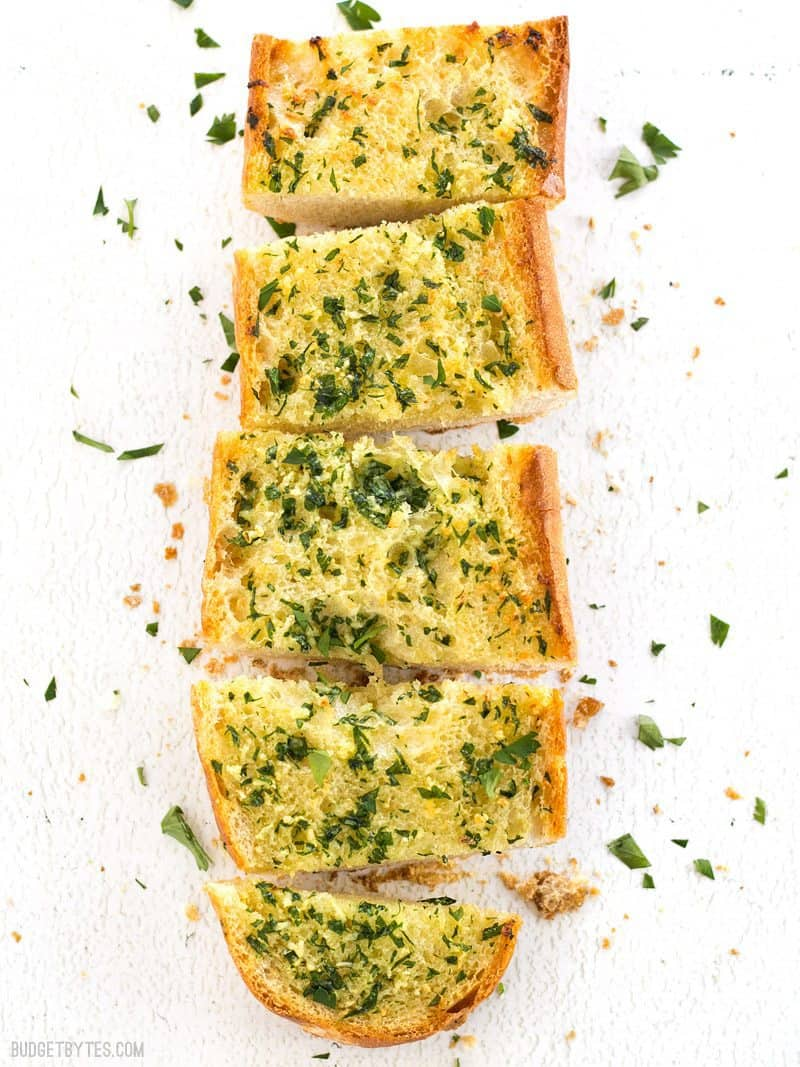 store bought garlic bread instructions