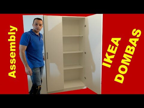 ikea dombas wardrobe assembly instructions