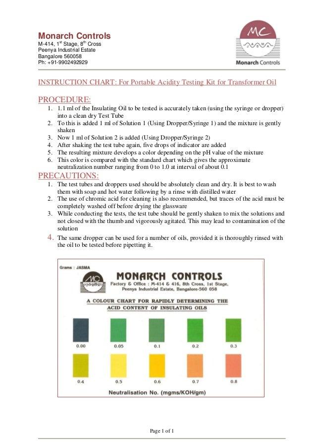 ph test kit instructions