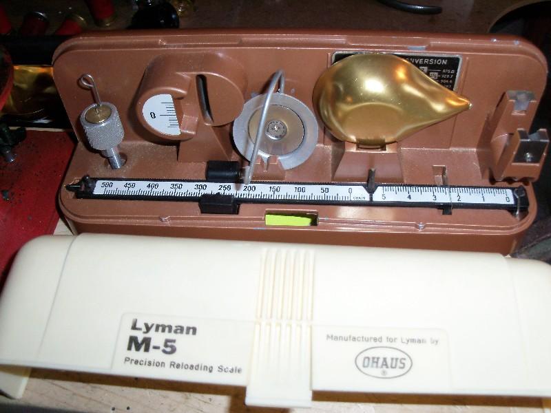 lyman m5 scale instructions