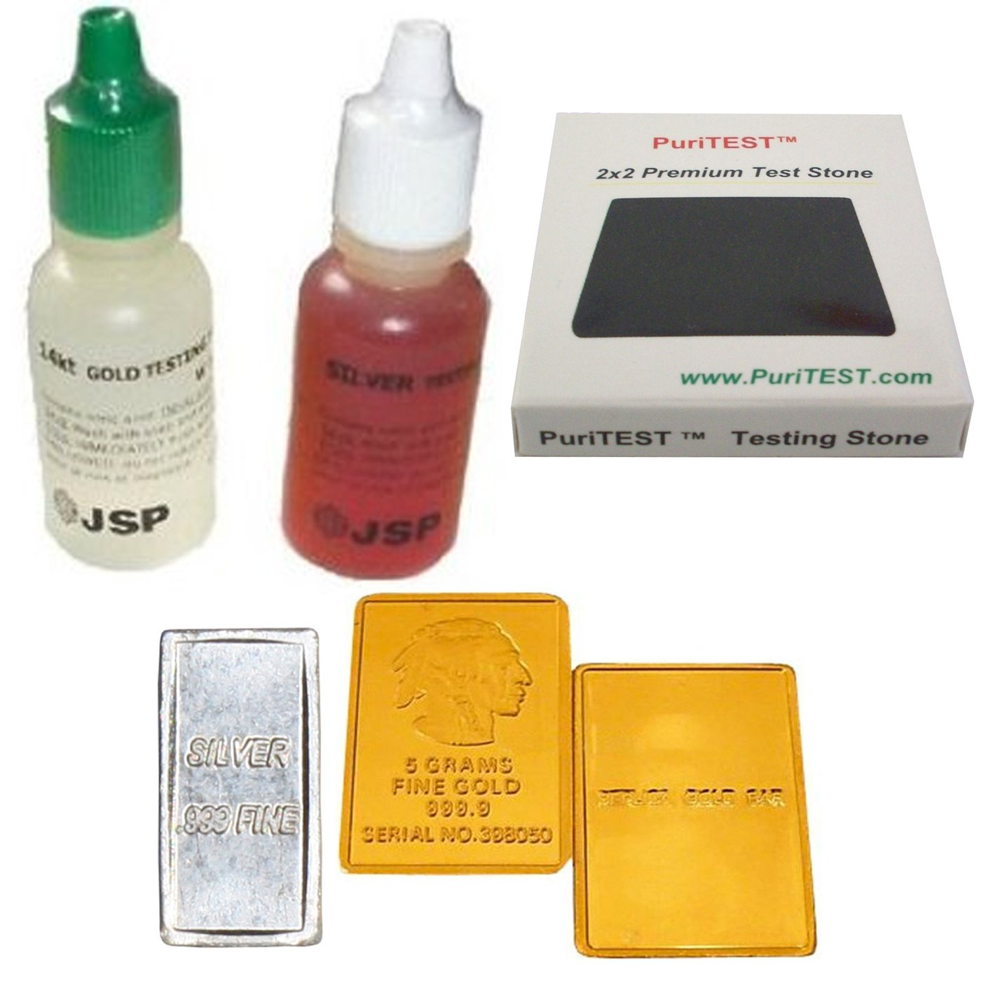 gold acid test instructions