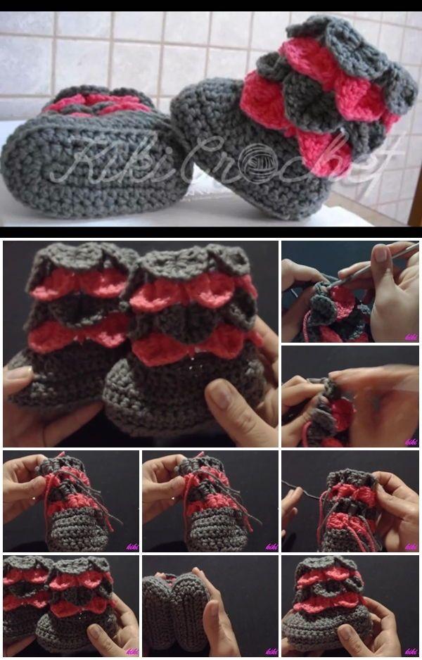crochet crocodile stitch written instructions