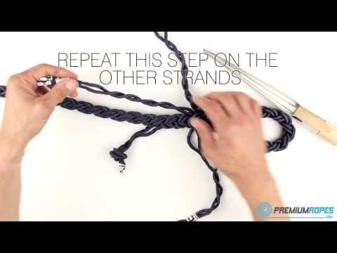8 strand mooring rope splicing instructions