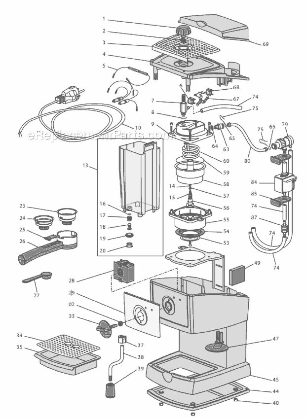 breville espresso machine cleaning instructions