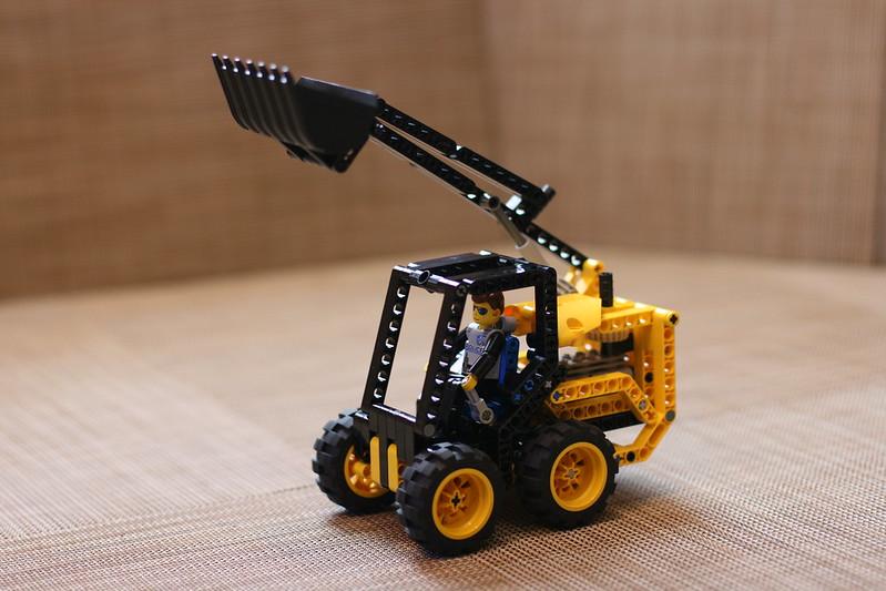 lego skid steer instructions
