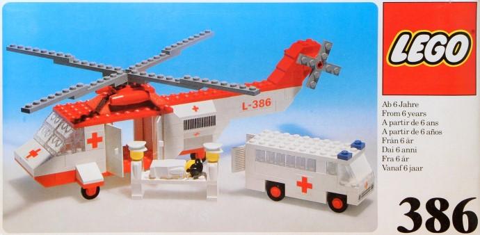 lego city ambulance plane instructions