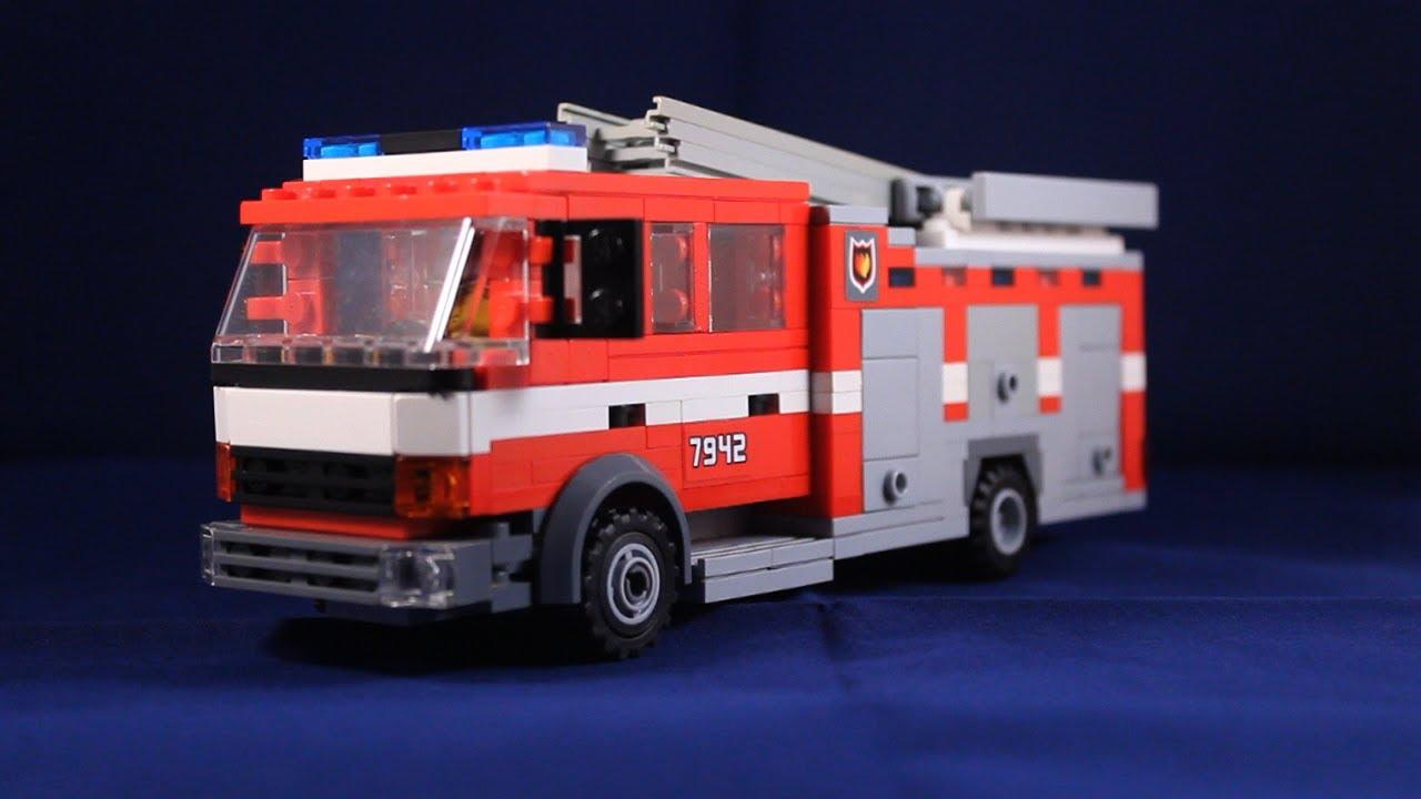 lego fire engine instructions
