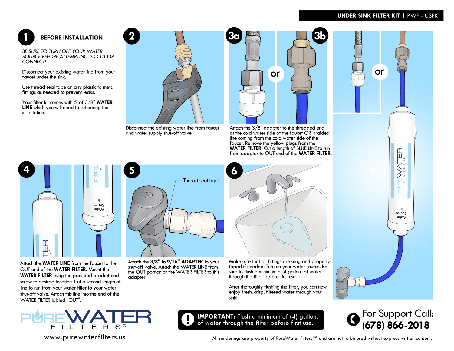 pur water filter replacement instructions