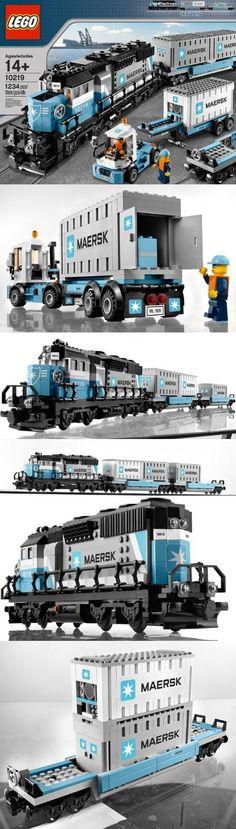 lego maersk train instructions