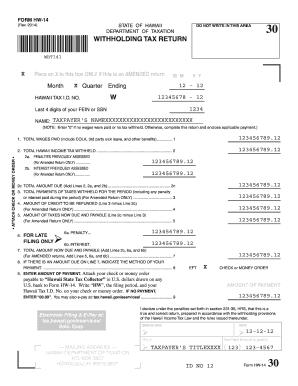 company tax return instructions 2014