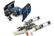 lego darth vader tie fighter instructions
