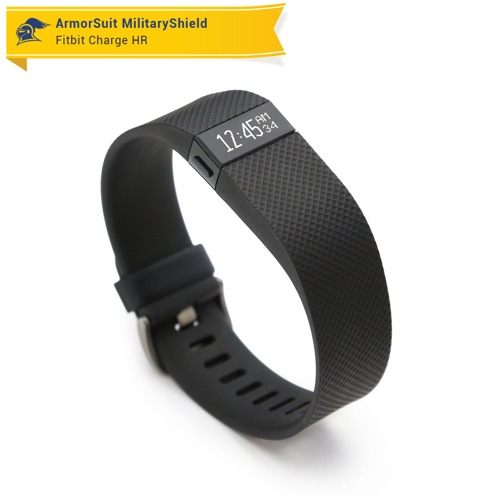 fitbit charge hr instructions
