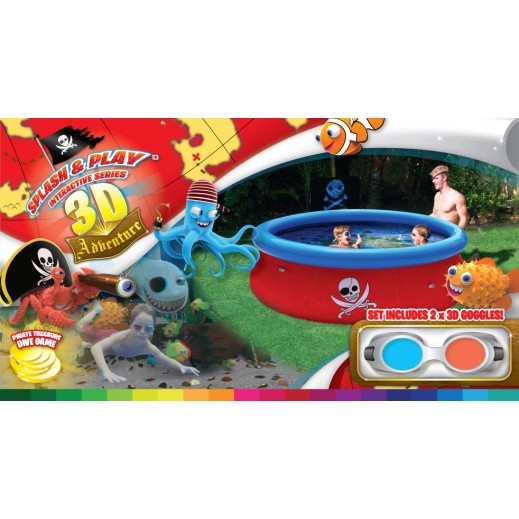 bestway splash and play pool instructions