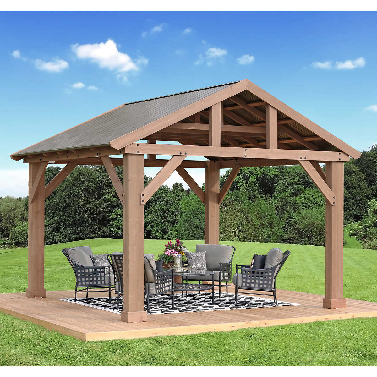 marquee picnic gazebo instructions