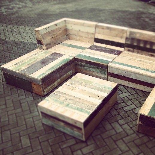 pallet garden furniture instructions
