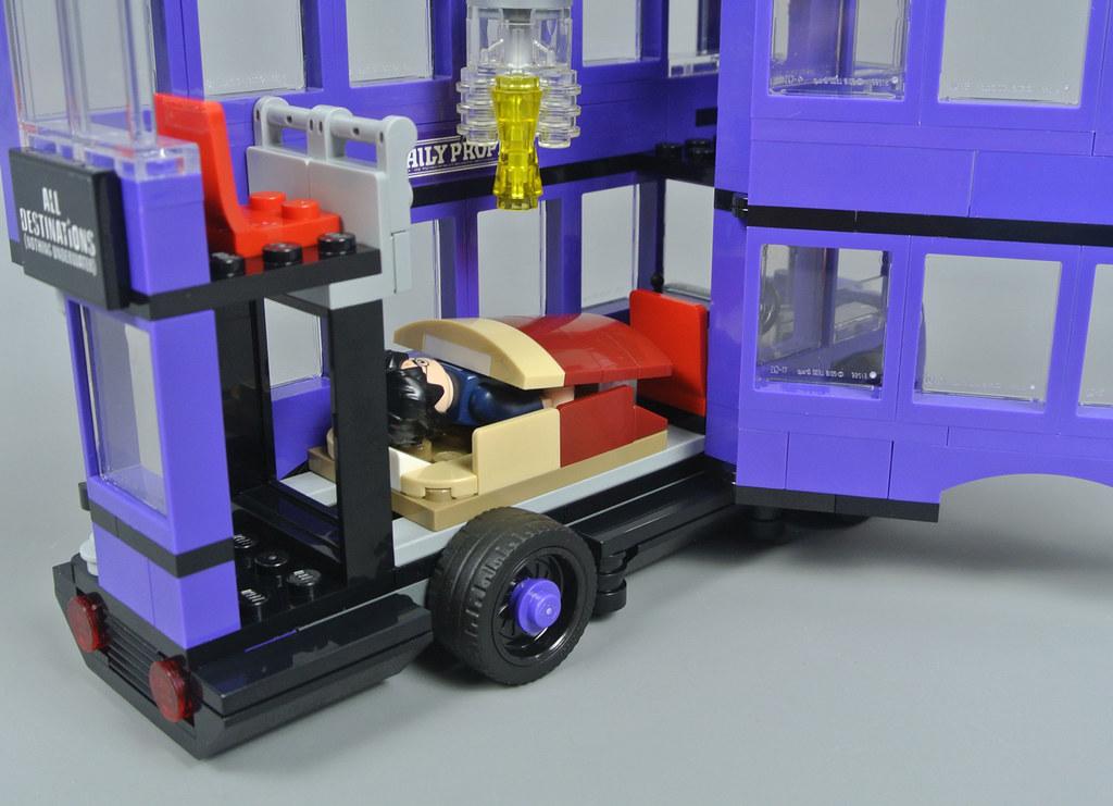 lego harry potter knight bus instructions