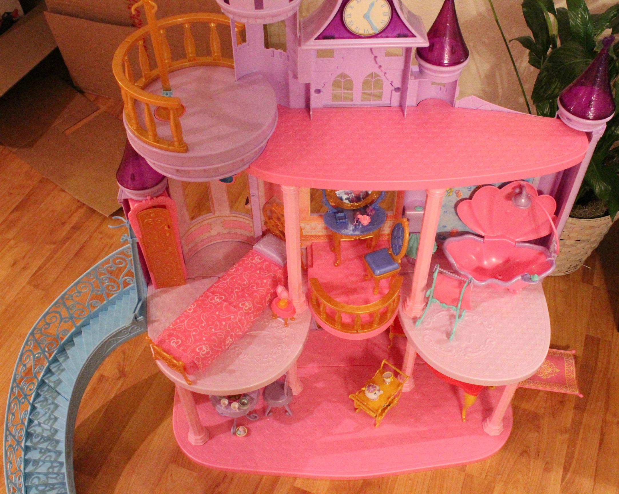 disney princess ultimate dream castle instructions