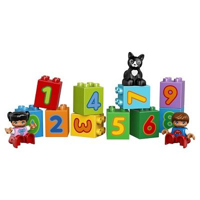 duplo number train instructions