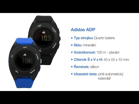 adidas questra watch instructions