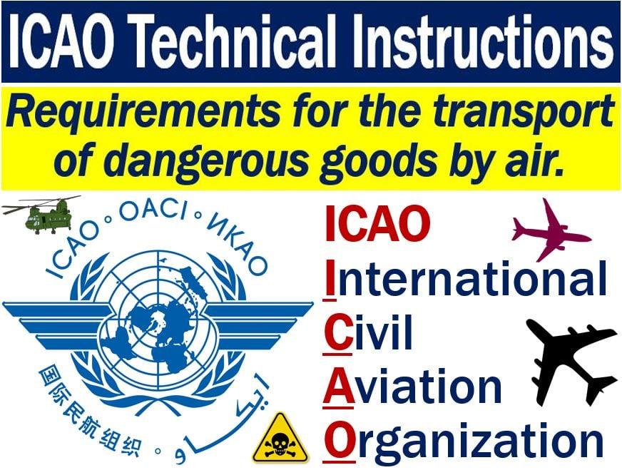 icao technical instructions dangerous goods