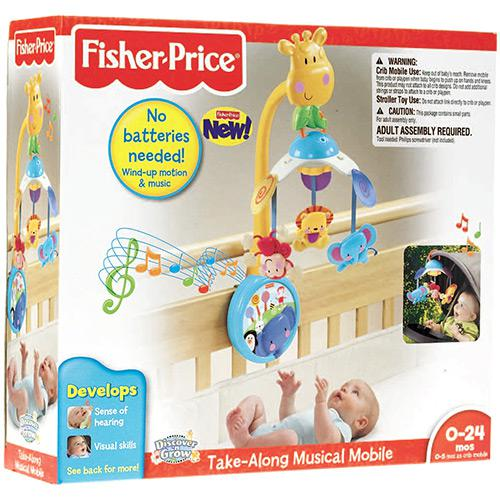fisher price mobile instructions