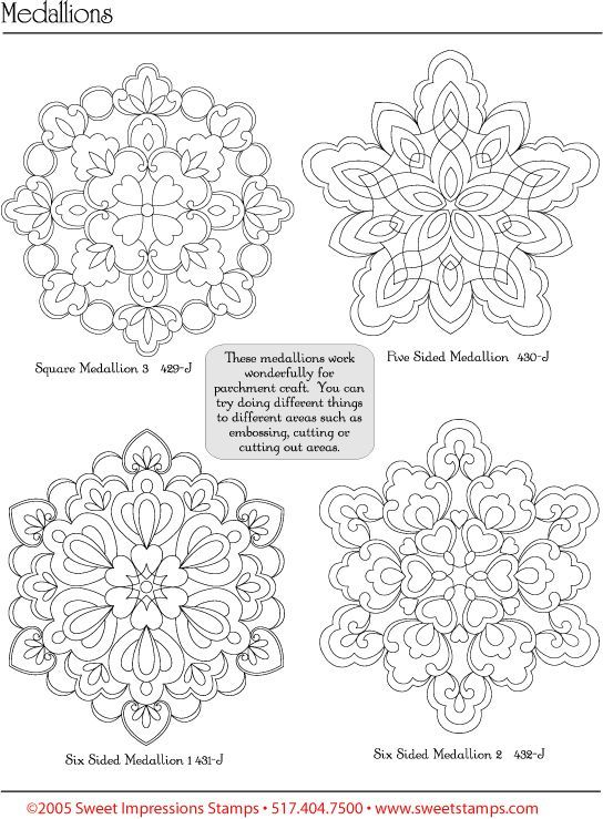 free pergamano patterns with the instructions