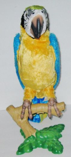 furreal squawkers mccaw parrot instructions