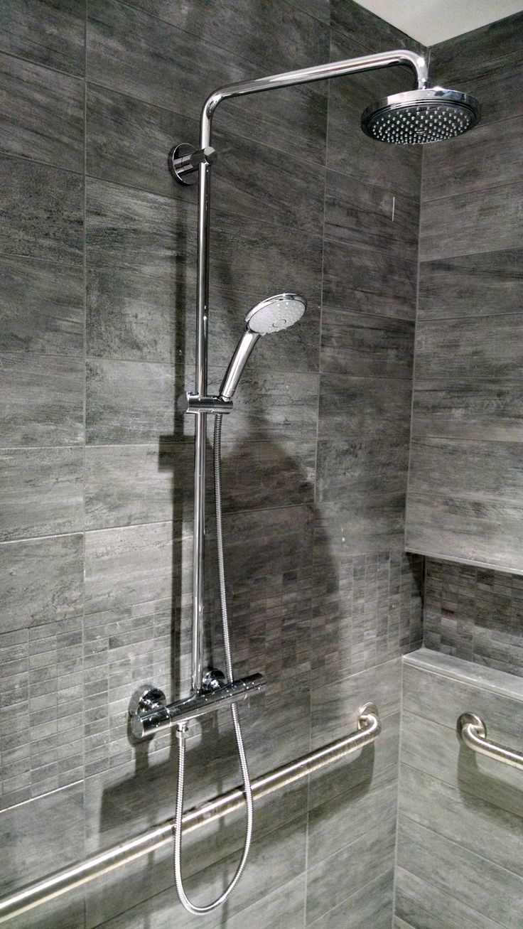 grohe shower bar installation instructions